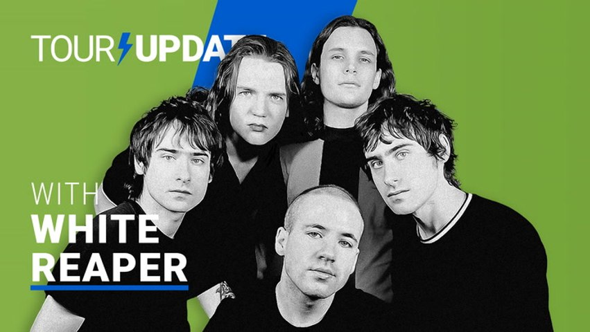 Tour Update: White Reaper Reminisces Past Silly Setlists