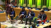 Los jóvenes se movilizan por el clima en inédita cumbre en la ONU