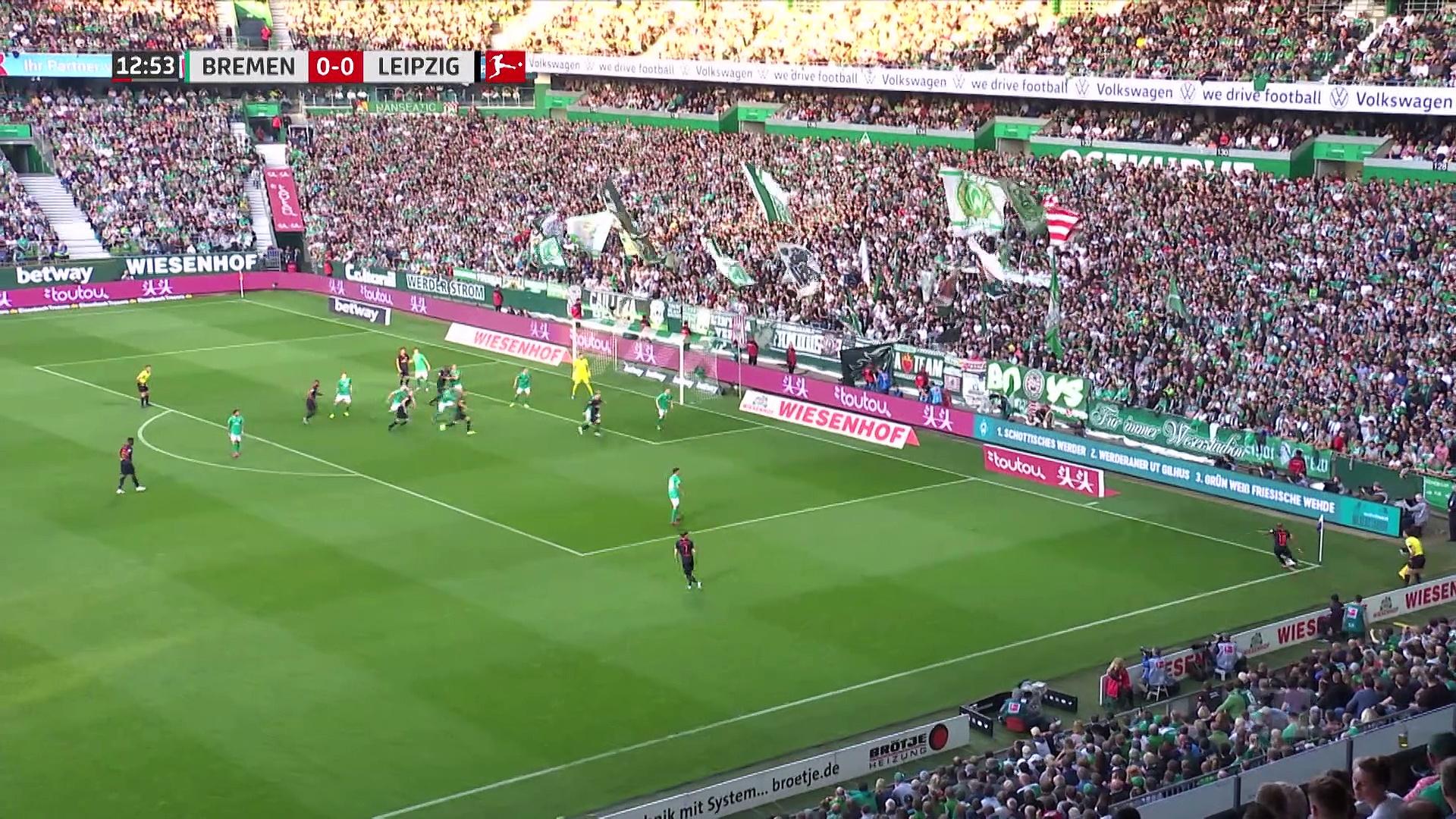 5. Hafta / Werder Bremen - RB Leipzig: 0-3 (Özet)