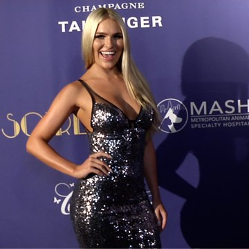 Toneata Morgan 2019 Golden Soiree Emmy Celebration Red Carpet