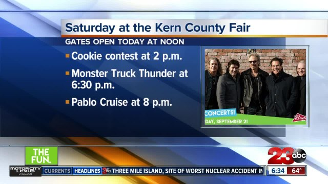 Saturday events at the Kern County Fair
