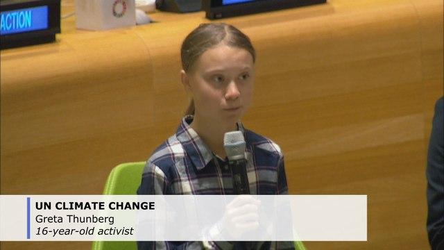 Greta Thunberg, young activists seek UN action against climate change