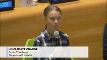 Greta Thunberg, young activists seek UN action against climate change