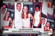 EEUU: víctima de Epstein acusa a príncipe de Inglaterra de abusar de ella con 17 años
