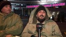 Engelli vatandaşlardan CHP Genel Merkezi önünde açlık grevi