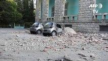 Erdbeben erschüttert Albanien