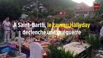 À Saint-Barth, le caveau Hallyday déclenche une guéguerre