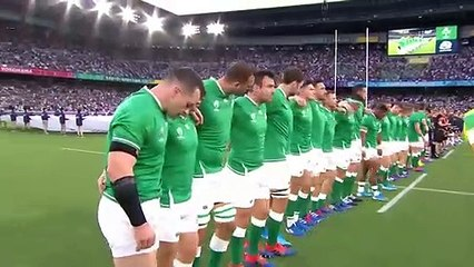 Ireland's National Anthem at Rugby World Cup 2019