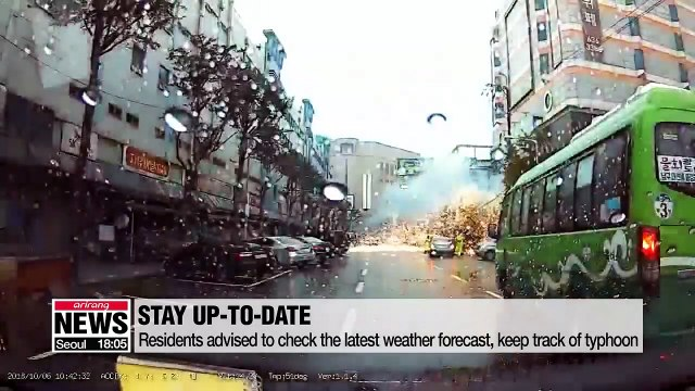 Tips to avoid harm and minimize damages from Typhoon Tapah