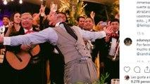 Feliciano López y Sandra Gago comparten un pequeño álbum de su boda