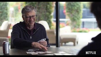 Bill Gates gets super lucky playing cards! - Netflix