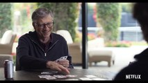 Bill Gates gets super lucky playing cards! - Netflix