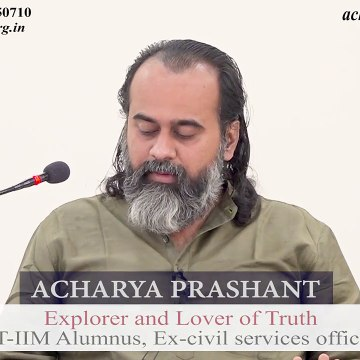 Is non-violence about not fighting the false and evil? || Acharya Prashant (2019)