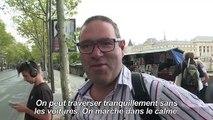 """""""Journée sans voiture"""": Hidalgo défend son bilan sur les Champs"""