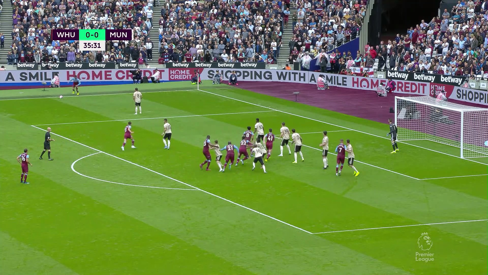 6. Hafta / West Ham United - Manchester United 2-0 (Özet)