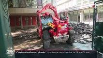 Contamination au plomb : l'inquiétude des riverains de Notre-Dame