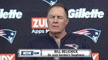 Bill Belichick Praises Josh Gordon, Rex Burkhead