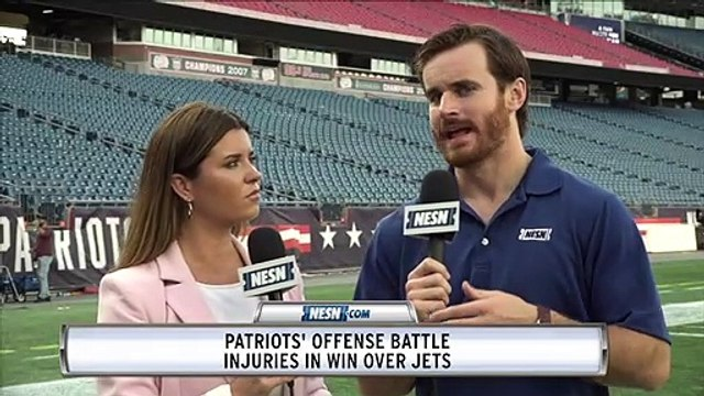 Patriots Battle Injuries In Win Over Jets