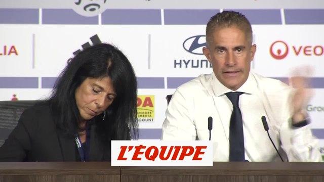 Sylvinho «Redonner confiance à l'équipe» - Foot - L1 - Lyon