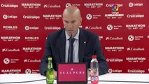 Zidane purrs over 'high level' Real Madrid performance