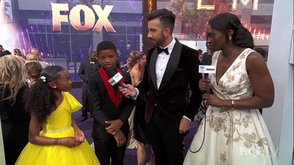 Lonnie Chavis and Faithe Herman Talk 'This is Us' Co-Star Sterling K. Brown