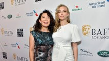 Jodie Comer says Sandra Oh Emmy feud rumours 'are nonsense'
