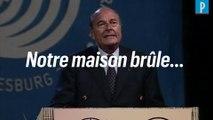 « Notre maison brûle » : quand Jacques Chirac alertait sur le sort de la Terre