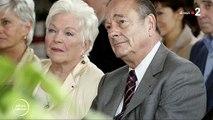 """Disparition de Jacques Chirac - Avec émotion, Line Renaud rend hommage à l'ex-Président: """"C'est très triste, c'est terrible de le voir partir"""" - VIDEO"""