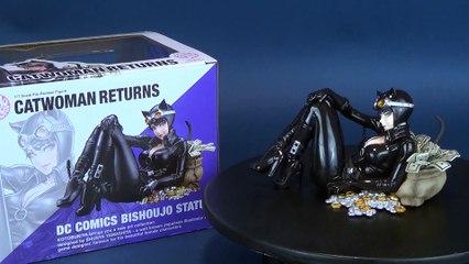 Kotobukiya DC Comics Catwoman Bishoujo Statue Review