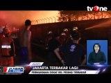 Kebakaran Besar Hanguskan 26 Rumah di Jakbar, KRL Terganggu