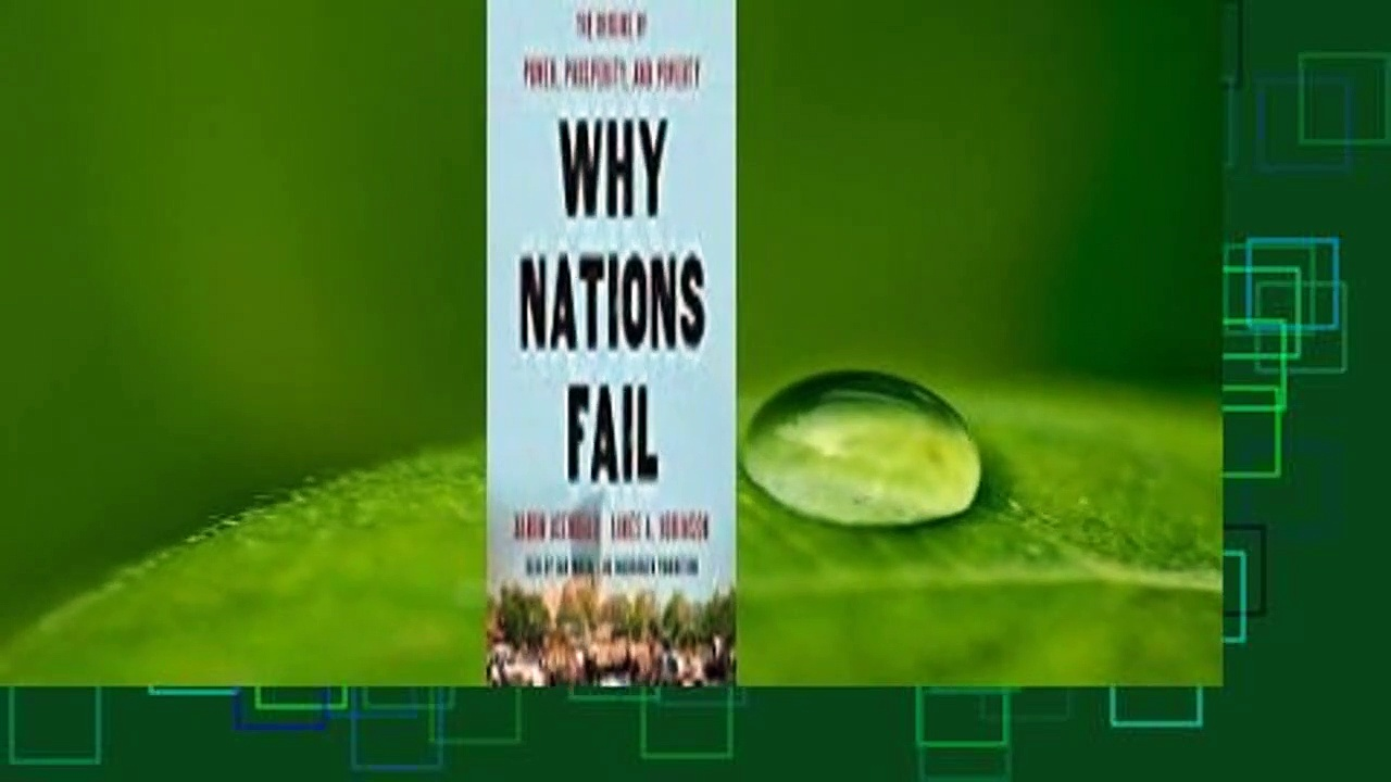 Full E-book  Why Nations Fail: The Origins of Power, Prosperity, and Poverty  Best Sellers Rank :