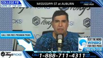 Mississippi St vs Auburn College Football Pick 9/23/2019