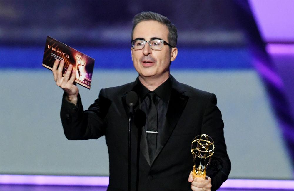 John Oliver wins Emmy for fourth year