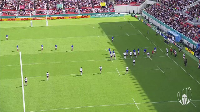 Incredible Namibia Try at Rugby World Cup 2019