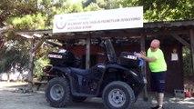 Sahillerin ATV motorlu 112 Acil Servis ekibi hayat kurtarıyor - MUĞLA