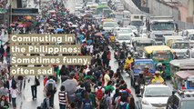 Commuting in the Philippines: Sometimes funny, often sad