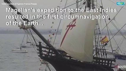 Spain marks 500th anniversary of first round-the-world sea voyage