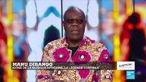 À l'Affiche : L'icône de la musique africaine Manu Dibango sur FRANCE 24 !