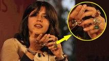 Ekta Kapoor Reveals the Secret Of Wearing Rings and Stones | Boldsky