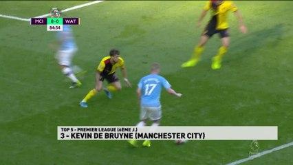 Top 5 Premier League - 6ème journée