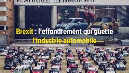 Brexit : l'effondrement qui guette l'industrie automobile