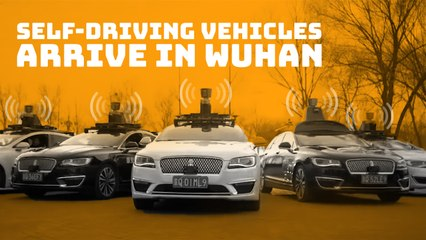 Commercial autonomous vehicles arrive in Wuhan