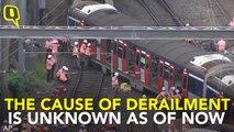 8 Hurt as Passenger Train Derails In Hong Kong During Rush Hour