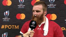 Jake Ball wins Mastercard Player of the Match for Wales