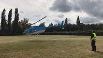 Un hélicoptère pour surveiller les lignes électriques du Calvados