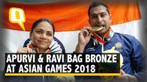 Shooters Apurvi, Ravi Win Bronze, India's 1st Medal at Asian Games