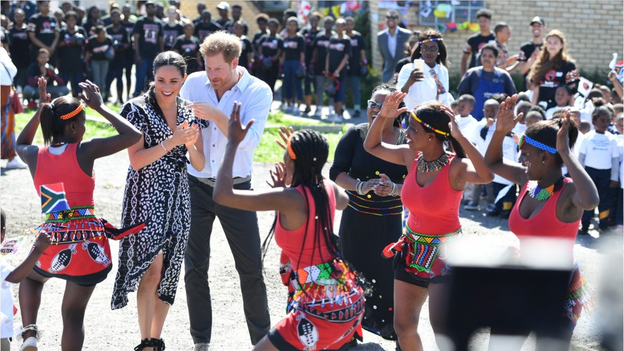 Prince Harry, Meghan And Archie Arrive In Cape Town