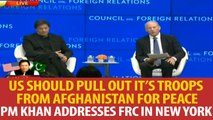 New York: PM Imran Khan addresses Council on Foreign Relations