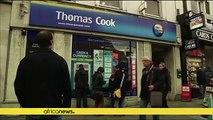 Chaos après la faillite du voyagiste britannique Thomas Cook