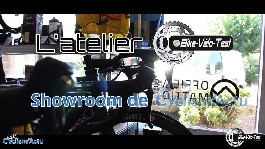 Matériel - L'atelier Bike Vélo Test : le showroom de Cyclism'Actu